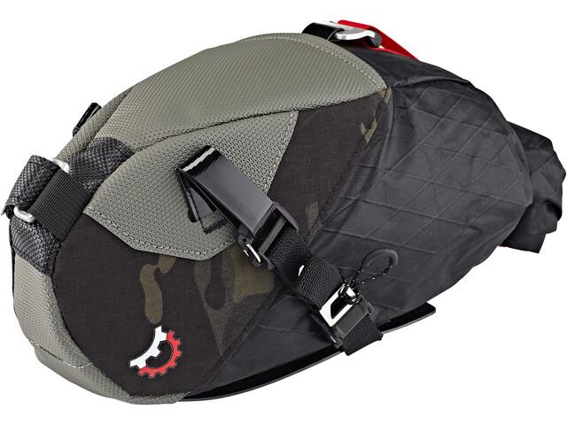 Revelate Designs Vole Saddle Bag incl. Valais Clamp 26mm black camo